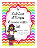 A Bad Case of Stripes Reading Comprehension Test
