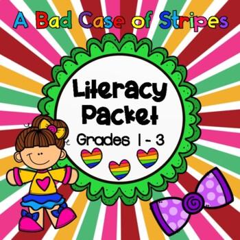 A Bad Case of Stripes:   Literacy Skills