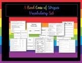 A Bad Case of Stripes Vocabulary Set