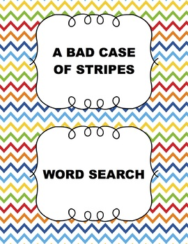 A Bad Case of Stripes - Word Search