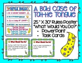 A Bad Case of Tattle Tongue Poster & Activities