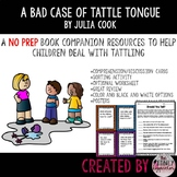 A Bad Case of Tattle Tongue Sorting Extension Activity Worksheets