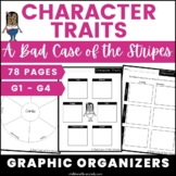 A Bad Case of the Stripes Character Traits Activities