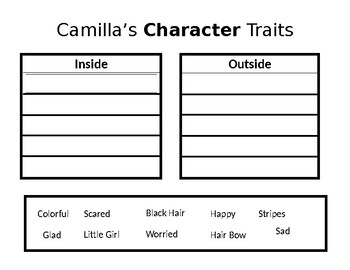 A Bad Case of the Stripes Modified Character Chart