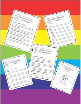 A Bad Case of the Stripes - Reading Strategies Packet