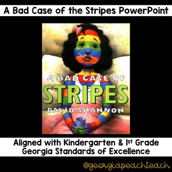 A Bad Case of the Stripes PowerPoint