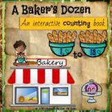 A Baker's Dozen -- An Interactive Counting Book