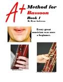 A+ Band Method for Bassoon