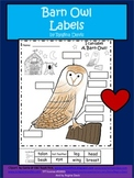 A+ Barn Owl Labels