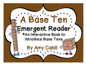 Base Ten Emergent Reader