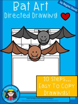 A+ Bat Art: Directed Drawing
