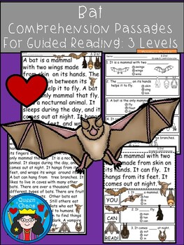 A+ Bat Comprehension:Differentiated Instruction For Guided