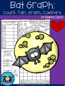 A+ Bat Graph: Count, Tally, Graph, and Compare