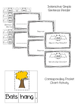 A Bat Tale Interactive Simple Sentence Reader and Bat Craft
