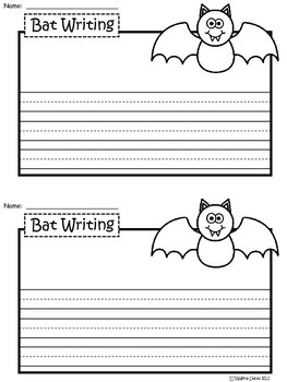 A+ Bat: Writing Paper