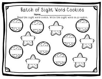 A Batch of Sight Words