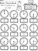 A+ Bats Analog Clock & Digital Clock Work (Hour & Half Hour)