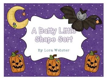 A Batty Little Shape/Color Sort