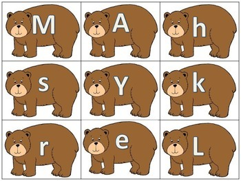 A Bear Brown Bundle of Literacy and Math Activities Galore! 70+ pages