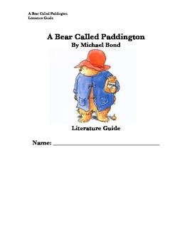 A Bear Called Paddington Literature Guide