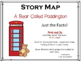 A Bear Called Paddington - Story Map