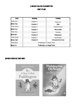 A Bear Called Paddington Unit Plan