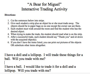 """""""A Bear for Miguel"""" Complete Unit"""