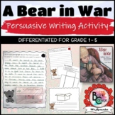 A Bear in War *Remembrance Day Lesson and Activity*