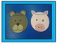 A+ Bears And Pigs: Folktale Characters Craftivity