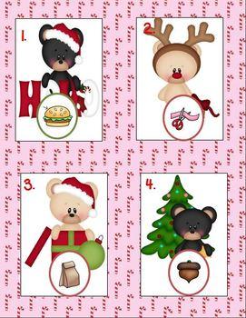 "A ""Beary"" Merry Christmas (Math and ELA Christmas Fun)"