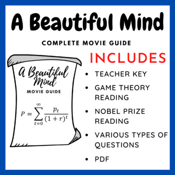 A Beautiful Mind 2001 Complete Movie Guide Introduction To