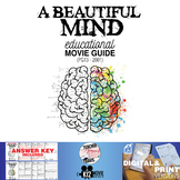 A Beautiful Mind Movie Guide | Questions | Worksheet (PG13 - 2001)