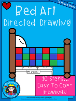 A+ Bed Art: Directed Drawing