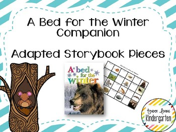 A Bed for the Winter Companion - Adapted Story Book Pieces FREEBIE