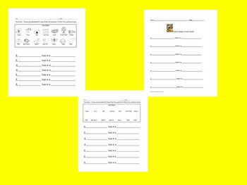 A Bed for the Winter Differentiated List Paper