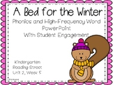 A Bed for the Winter, PowerPoint With Student Engagement