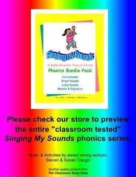"Phonics to the Core - A Bee Upon My Knee - Long Vowel ""E"" Video & MP3"