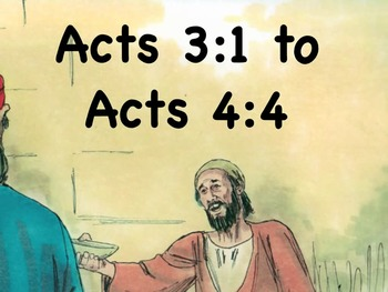 A Beggar is Healed mp4 Read-Along Bible Story from Acts