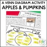 A Beginner's Venn Diagram Activity