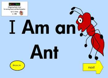 A Beginning Phonics Interactive EBook for Reading CVC Short Vowel A Words 2