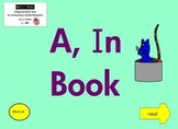 """!A Beginning Phonics Interactive Ebook for Reading """"A and IN""""!"""