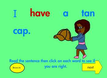 """!A Beginning Phonics Interactive Ebook for Reading """"HAVE""""!"""