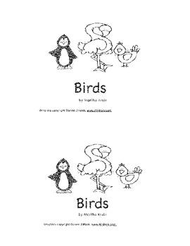 A Beginning Reader About Birds