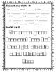 A Beka 1st Grade Spelling Packet List 10