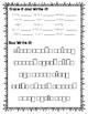 A Beka 1st Grade Spelling Packet List 20