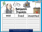 A+  Benjamin Franklin ... Three Graphic Organizers