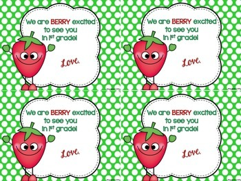 A *Berry* Sweet Back to School Treat FREEBIE