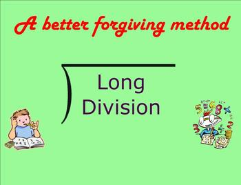 A Better Forgiving Method (Long Division) - Smartboard Lesson