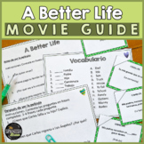 """A Better Life"" Spanish Movie immigration"
