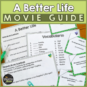 """""""A Better Life"""" Spanish Movie immigration"""
